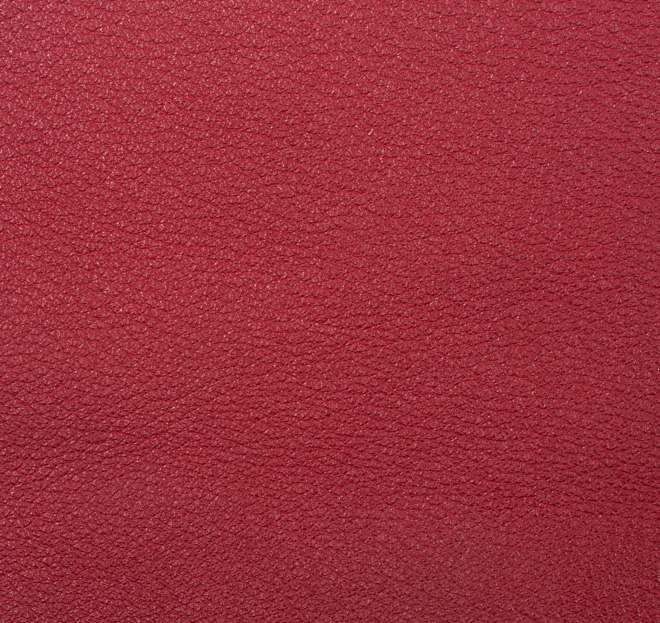 Vachette foulonnée Rosso Atelier de LAFORET