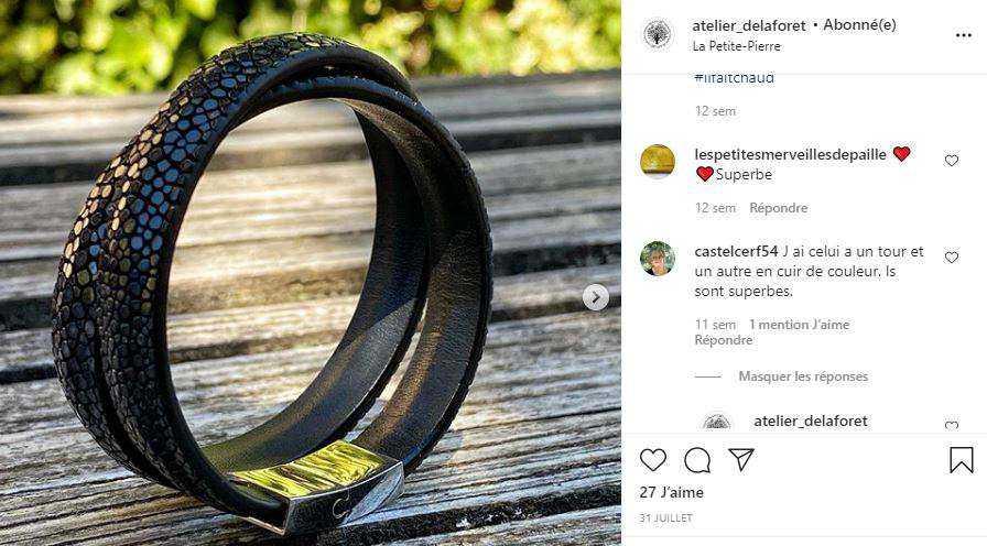 instagram bracelets Claire créations DE LAFORET