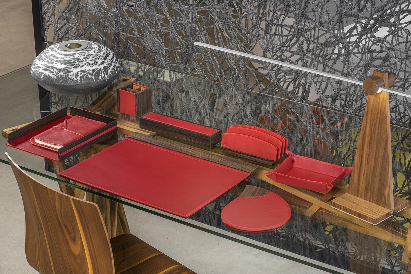 ambiance wenge vachette foulonnée rosso ATELIER DE LAFORET